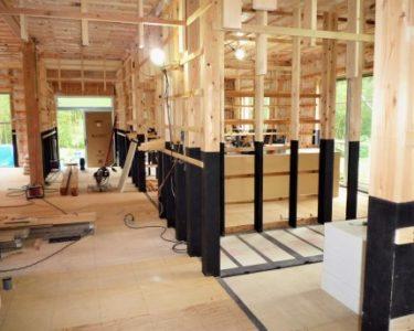 家づくりの流れ‥・木工事 ⑥壁下地と床下地の施工方法?