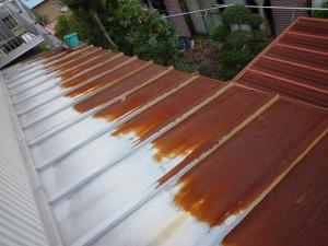 ☆腐食したトタン屋根の張替え依頼‼