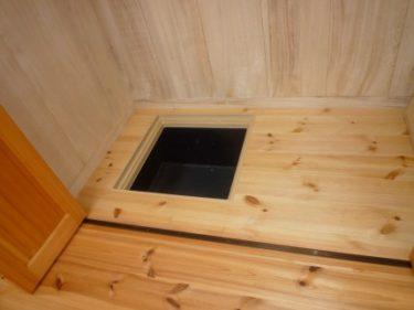 ~小屋裏・床下の点検口の重要性‼