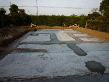 ☆家づくりの流れ・・・建物を支える重要な基礎工事。チェック‼