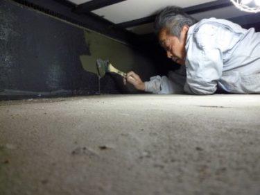 焼津市O様邸、築3年目の床下定期点検に行ってきました。