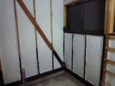 腐食したタイル張り壁下地、洗面補修直しの経過速報‼③