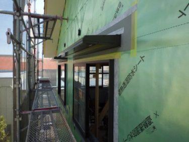 ☆過去から学ぶ、窓廻りの防水処理とベランダサッシの防水処理?