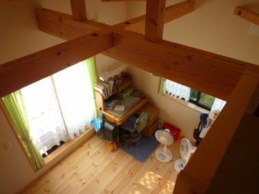 癒しの空間、ロフトのある遊び心を兼ねた子供室‼(増改築実例)