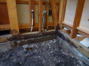 駿河区北丸子でタイル張り浴室をユニットバスにリフォーム依頼。