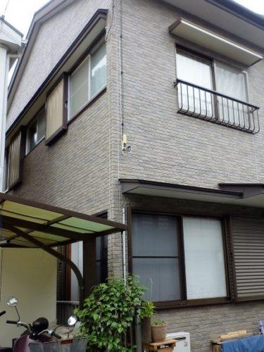静岡市葵区桜町で経年による外壁、コーキング剥離不安で相談依頼。