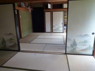 ☆和室床張り・襖障子紙張替えリフォーム工事完了しました(葵区)