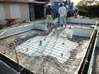 ☆家づくりの流れ・・・基礎工事 ④・・・コンクリート打設の注意点‼