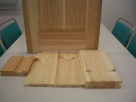 基本標準仕様無垢の床材・羽目板