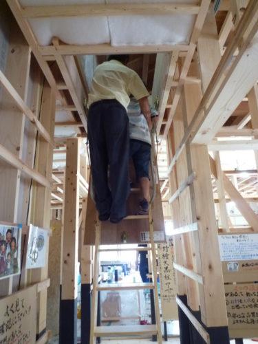 ☆構造見学会で注目された小屋裏収納の内部構造?!