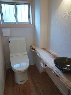 こだわりのトイレ室がいい!!