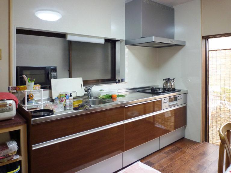 壁、天井、床、キッチン設備機器全面リフォーム後