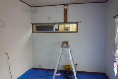 ☆経年した借家の壁直しの難しさ(リフォーム)